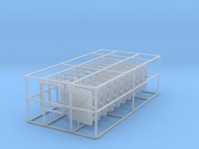 1/35 DKM Destroyer Windows Set x10 in Smooth Fine Detail Plastic