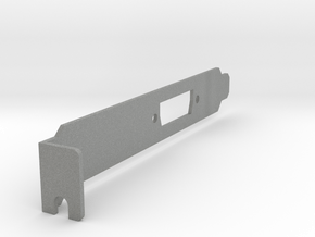 VisionRGB E1S Full-Size Bracket(v4) in Gray PA12
