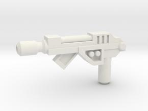POTP Slash Pistol in White Natural Versatile Plastic