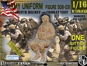 1/16 Mod-Unif Vest+Mitch 506-031 in White Natural Versatile Plastic