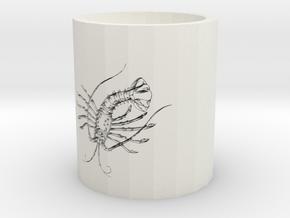 Lobster in White Natural Versatile Plastic