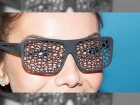 FABSHADES - Voronoi edition in Black Premium Versatile Plastic