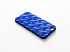 iPhone 6 & 6S case_Cube in Blue Processed Versatile Plastic