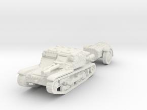cv35 flamethrower scale 1/100 in White Natural Versatile Plastic