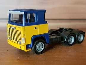 02 116 Sonnenblende Scania 111/141 in Smoothest Fine Detail Plastic
