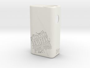 TLF# - PARENTAL Body - 18650 in White Natural Versatile Plastic