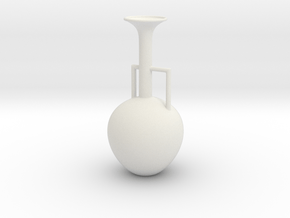 Vase 1514AD in White Natural Versatile Plastic