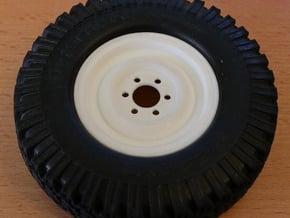 Unimog Felge Reserverad in White Processed Versatile Plastic