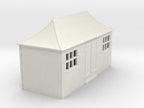 z-100-gwr-pagoda-shed-1 in White Natural Versatile Plastic