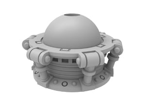 Torso Extension Unit in Smooth Fine Detail Plastic