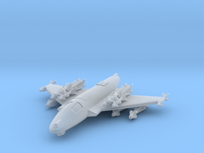 285 Scale Federation F-101C Voodoo Heavy Fighter in Smooth Fine Detail Plastic
