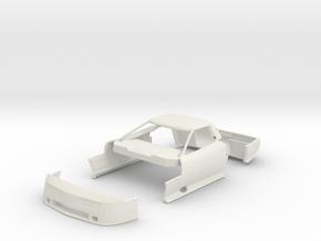 02-B3A 1988 IMSA GTO Corvette #2 Turbo in White Natural Versatile Plastic