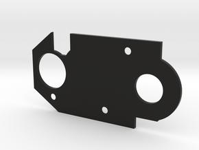 gears spacer in Black Natural Versatile Plastic