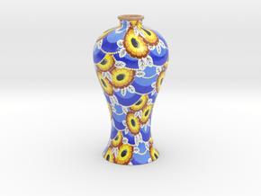 Vase 125 in Glossy Full Color Sandstone
