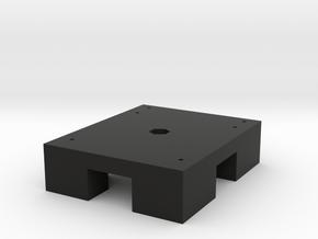 AL5D Arm Mount Base (part 1 of 3) in Black Natural Versatile Plastic