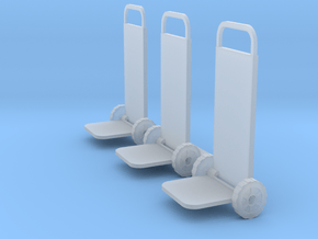 S Scale 2 Wheelers in Smooth Fine Detail Plastic
