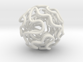 Interlockable hamiltonian paths in White Natural Versatile Plastic