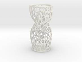 Vase 34221 (downloadable) in White Natural Versatile Plastic