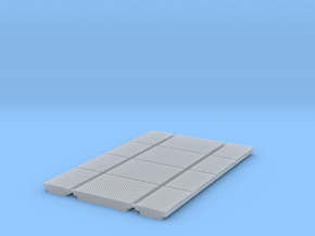 """HO (1:87) Rubber Grade crossing 12'-2"""" section in Smoothest Fine Detail Plastic"""