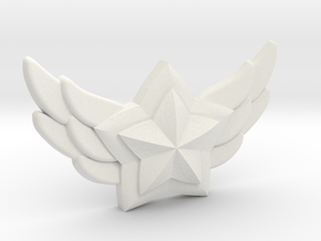 Star Guardian - First Star Pin in White Premium Versatile Plastic