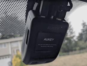 GoPro Clip to Aukey Dashcam Mount in Black Natural Versatile Plastic