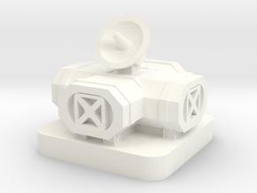 Mini Space Program, Space Base 2 in White Processed Versatile Plastic