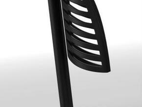 Penholder structure in Black Natural Versatile Plastic