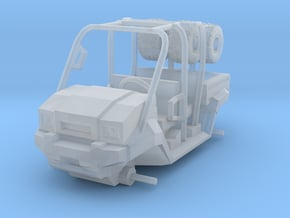 1/87 Scale MULE 4 Seater Short Bed in Smooth Fine Detail Plastic