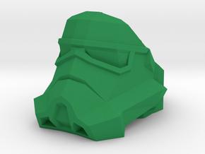 Star_Wars_Ring_Stormtrooper.stl in Green Processed Versatile Plastic