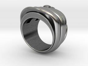 Mystery Train Ring _ Size 12 (21.49 mm) in Antique Silver