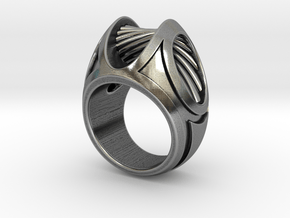 Into the Mystic - Size 12 (21.49 mm) in Antique Silver
