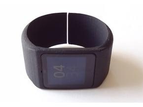 SmartWatch 3 cuff in Black Natural Versatile Plastic