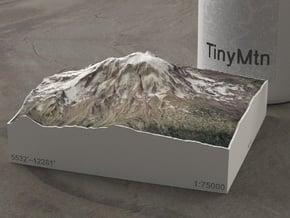 Mt. Adams, Washington, USA, 1:75000 Explorer in Natural Full Color Sandstone