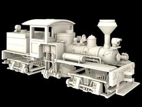 Nn3 Scale Class A, 16 Ton, 'T' Boiler Shay in Smooth Fine Detail Plastic