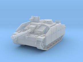 StuG III G early (skirts) scale 1/160 in Smooth Fine Detail Plastic