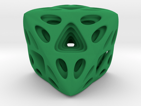 Nested Octahedron in Green Processed Versatile Plastic