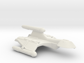 3125 Scale Romulan SparrowHawk-F+ Mauler Cruiser in White Natural Versatile Plastic