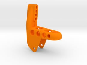 AR60 Rear Truss with Diff on Right Side in Orange Processed Versatile Plastic