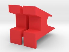 Nintendo switch dock in Red Processed Versatile Plastic