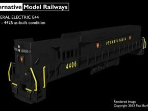 NE4402 N scale E44 loco - 4406-25 as built in Smooth Fine Detail Plastic