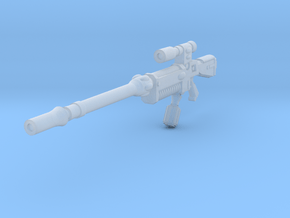 28mm space elf sniper rifle in Smoothest Fine Detail Plastic