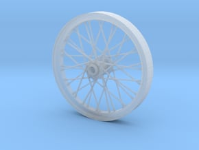 1/16 scale dragster wheel in Smoothest Fine Detail Plastic