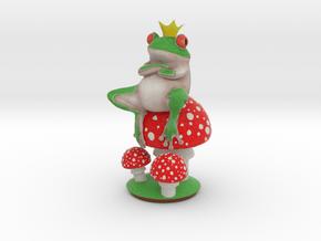 Mr Frog in Natural Full Color Sandstone