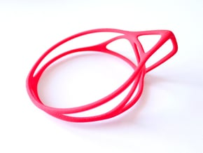Cup Converter - size M in Red Processed Versatile Plastic