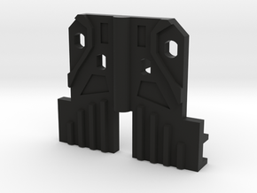 Arm filler for Fansproject Causality M3 Crossfire  in Black Natural Versatile Plastic