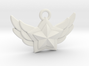 Star Guardian - First Star (Charm) in White Natural Versatile Plastic
