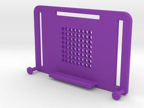 "NEODiVR ""poKet"" Li-ION battery holder for GoPro he in Purple Processed Versatile Plastic"