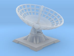 Satellite dish for wargames in Smooth Fine Detail Plastic