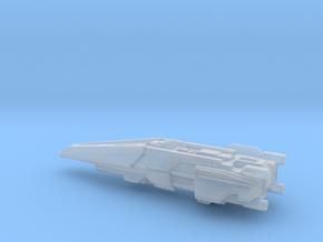 UNSC Halberd destroyer high detail 8cm in Smooth Fine Detail Plastic