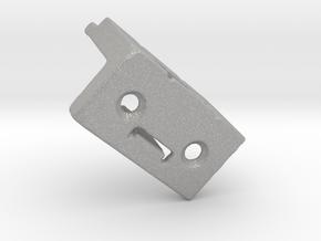 Shade Bracket 301 Delmar Levolor Plastic in Aluminum